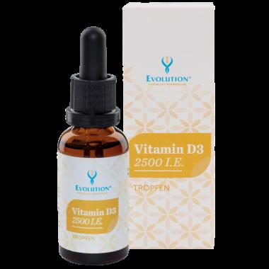 Vitamin D3 2.500 I.E. 30ml