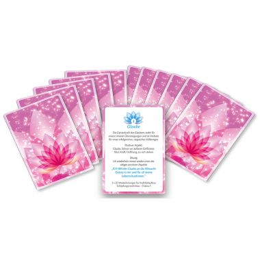Salvation set of 12 cards