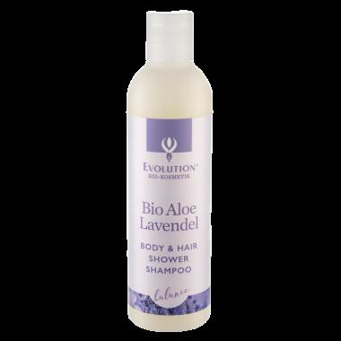 Bio Aloe Lavendel Body & Hair Shower Shampoo