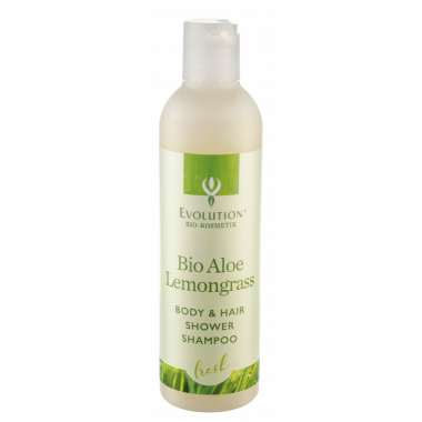 Bio Aloe Lemongrass Body & Hair Shower Shampoo
