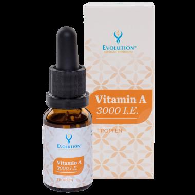 Vitamin A 3000 I.E. Tropfen