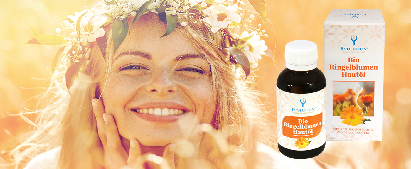 Bio Ringelblumen Hautöl